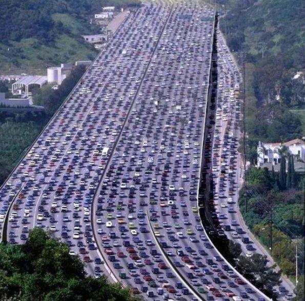 世界上最牛逼的堵车